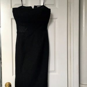 Black Strapless Ann Taylor Dress